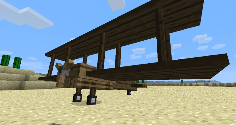 how to make a plane in flans mod